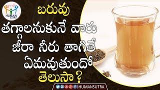 WeightLoss Benefits Of Jeera | #Health Tips In Telugu | Human Sutra