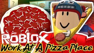 JESTEM W RAJU!  | Work at a pizza place | ROBLOX #39