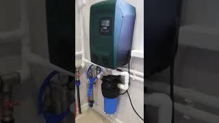 Монтаж водопровода, котельной, теплого пола с.Шунга, Костромская область