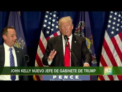 RED+ | Donald Trump reemplaza jefe de gabinete
