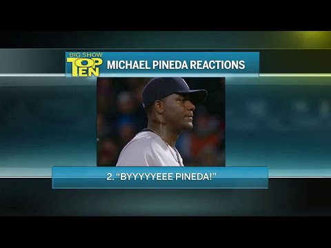 Michael Pineda's Top Ten Reactions To Being Caught Using Pine Tar