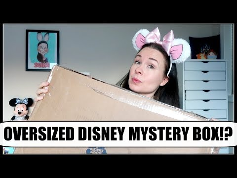 HUGE MICKEY'S MYSTERY BOX UNBOXING! | January 2018 | Disney Parks Merchandise!