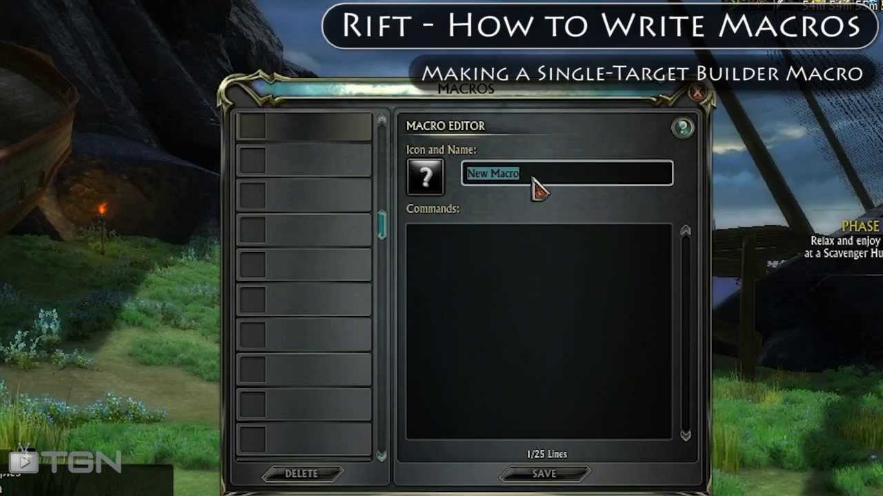 how to write a wow macro