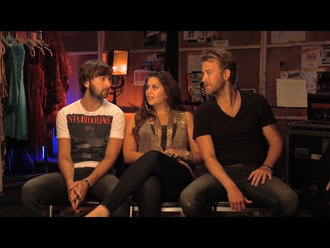 Lady Antebellum's favorite songs