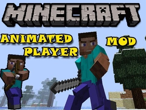 Minecraft 1.5.2| ANIMATED PLAYER MOD | COMO INSTALAR [Review]