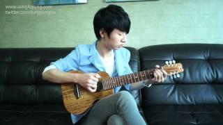 (Big Bang) Blue - Sungha Jung (guitarlele)