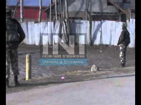INI-JAMMUKASHMIR-TWO MILITANTS KILLED TODAY SOPORE ENCOUNTER