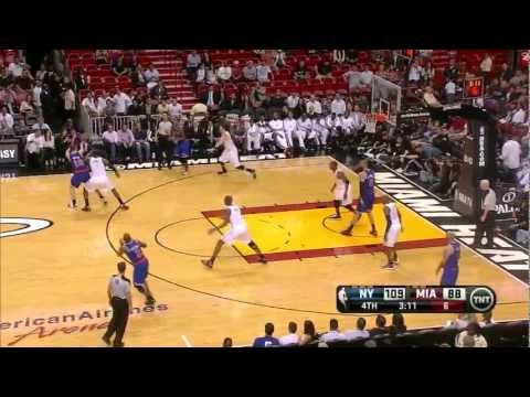 New York Knicks made 18 3 pointers vs Miami Heat full highlights 12/06/2012 HD