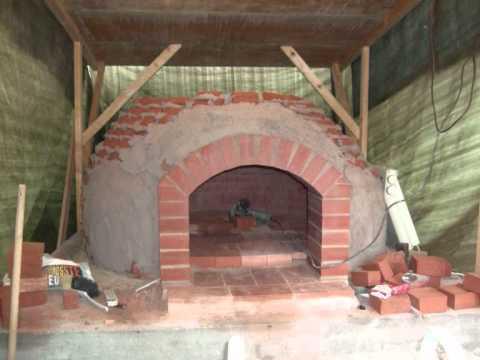 Pizzaofen gemauert