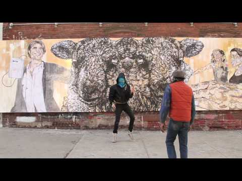 "GAIA & NohJColey on Brooklyn Street Art, ""Mutual Discrepancy"""
