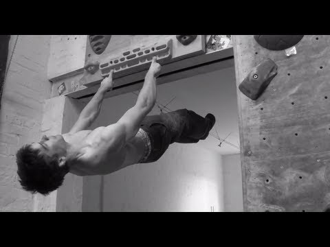 Jan Hojer is a BEASTY Single-Finger-Plank Man Machine - EpicTV Climbing Daily