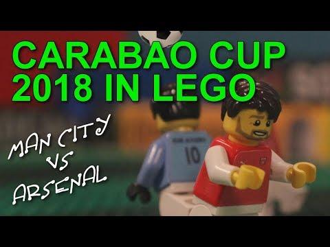 Carabao Cup Final 2018 in LEGO (Man City vs Arsenal)