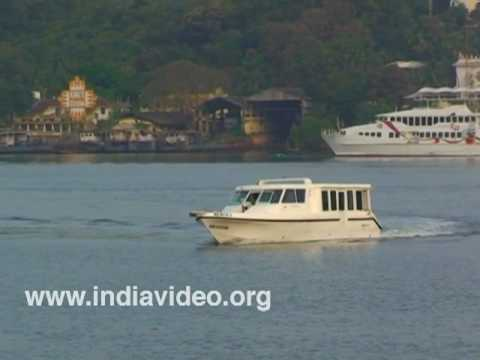 A Boat Cruise in Miramar beach, Goa