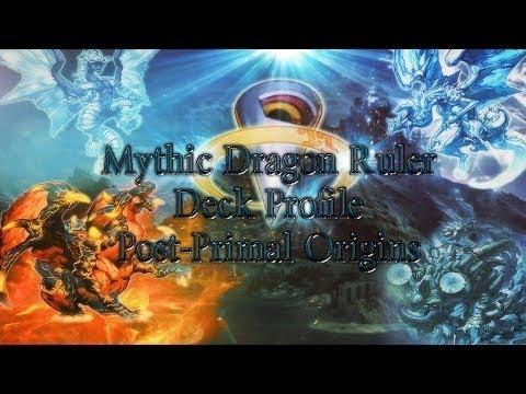 Dragon Ruler Deck Yu-gi-oh Deck Mythic Dragon
