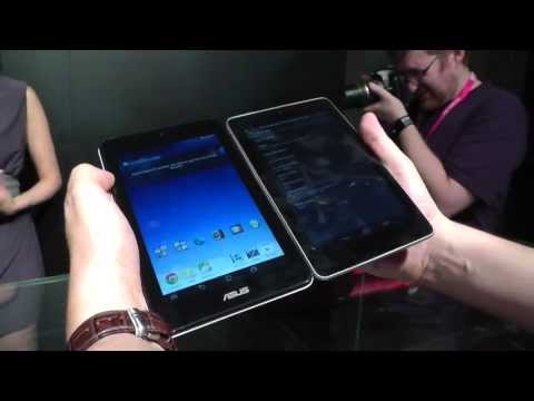 ASUS MeMO Pad HD 7 vs. Google Nexus 7 - Comparison at Computex 2013