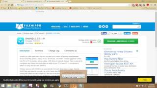 how to download shareit for windows 7/8/8.1 pc free