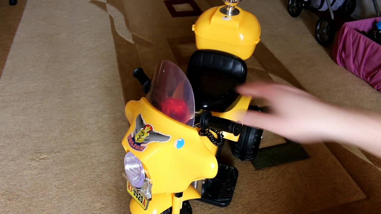 Ремонт детского мотоцикла на аккумуляторе своими руками