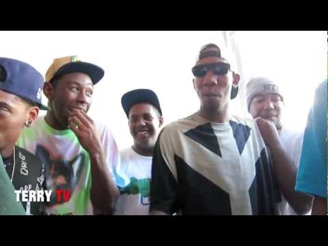 Odd Future Freestyle at Terry's Studio
