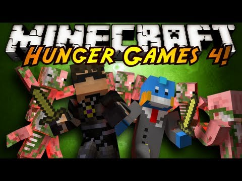 Minecraft Mini-Game : HUNGER GAMES 4!