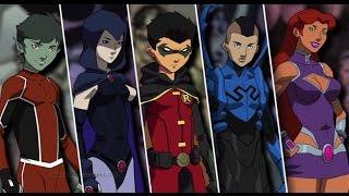 Damian Wayne/Robin - Justice League vs Teen Titans