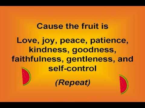 tamarindo fruit fruit of the spirit song