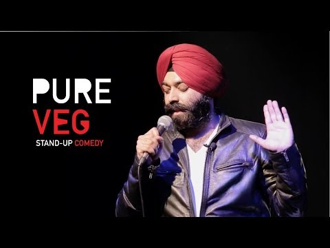 Pure Veg| Stand-Up Comedy by Vikramjit Singh