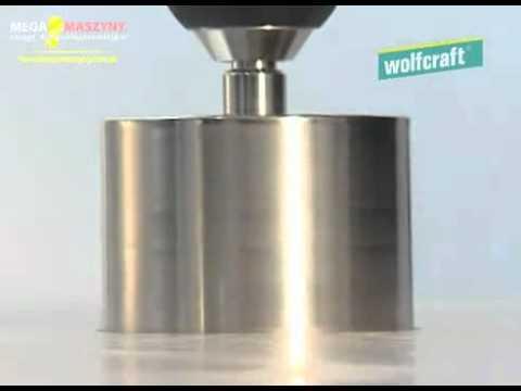 Pokaz pracy otwornic diamentowych Wolfcraft Ceramic