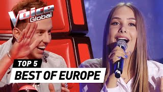 download lagu The Voice Global  Best Blind Auditions Of Europe gratis