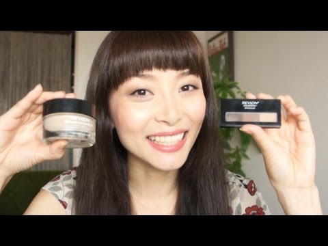 REVLON Colorstay Whipped Creme Makeup & Colorstay Brow Maker Reviews!!