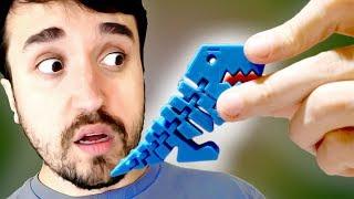 UMA MÁQUINA QUE FAZ TUDO! - Impressora 3D.