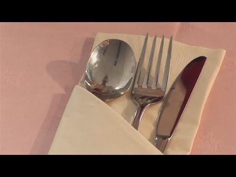 Fancy Paper Napkin Folding Ideas How to do Paper Napkin Folding