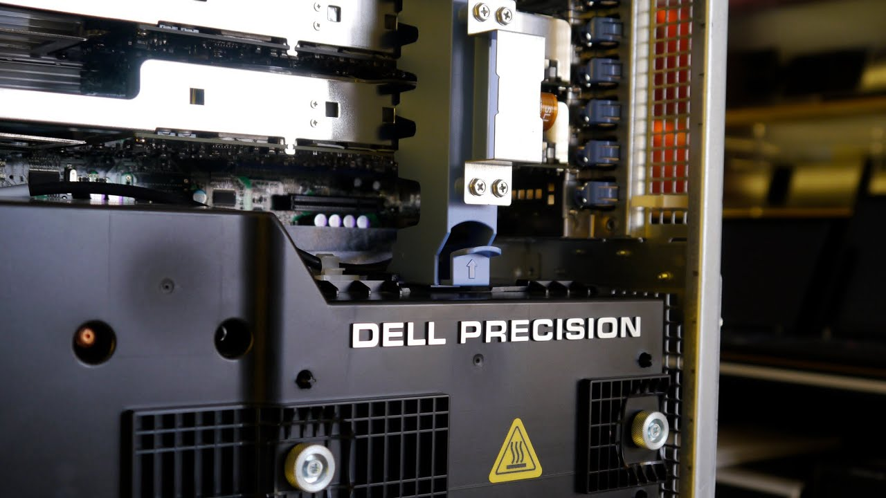 Dell Precision T7400 Inside
