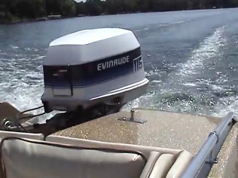 1979 evinrude 115 amsoil saber outboard oil 100 1 youtube for 115 johnson outboard motor