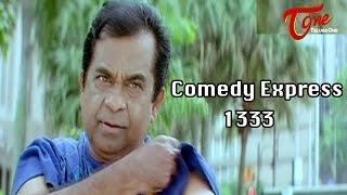 Comedy Express 1333 || Back to Back || Telugu Comedy Scenes