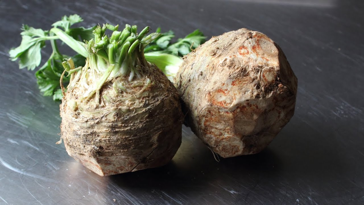 Celery Root Puree - How to Make Celeriac Puree - YouTube