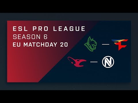 CS:GO: Heroic vs. FaZe  | EnVy vs MouZ - Day 20 - ESL Pro League Season 6 - EU Main Stream
