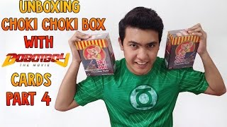 OH NO!!! NOT LUCKY!...OR LUCKY? Unboxing Choki Choki Box With Boboiboy The Movie Cards Part 4