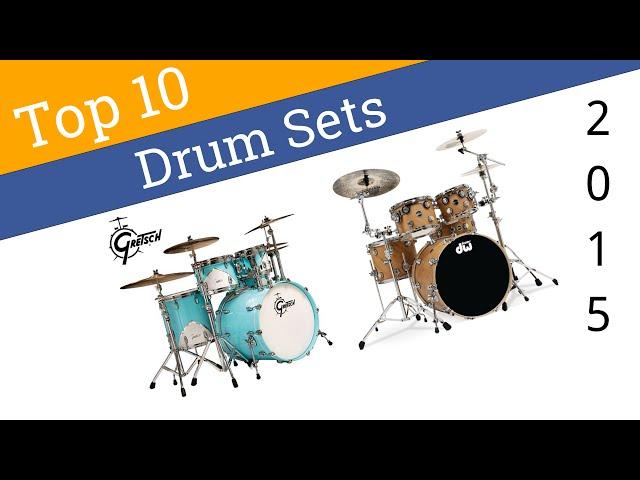 10 Best Drum Sets 2015