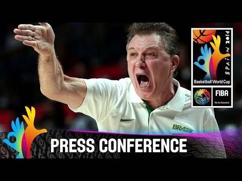 Brazil v Argentina - Post Game Press Conference - 2014 FIBA Basketball World Cup
