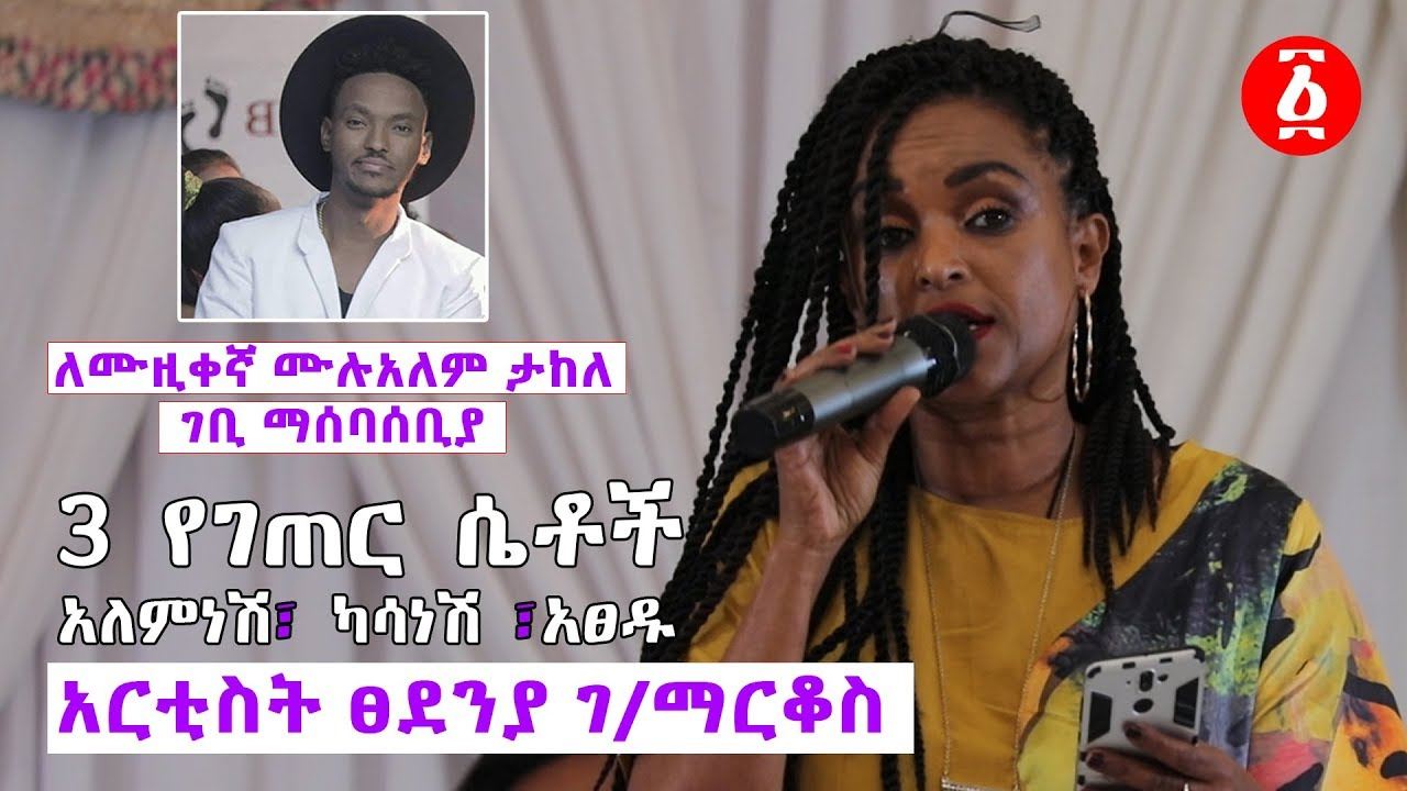 Artist Tsedeniya G/markos Poetry On Artist Mulalem's Fundraising