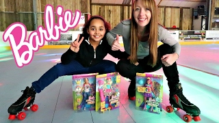 Barbie Video Game Hero Movie Dolls Surprise Toy Opening - Roller Skating Funny Fails