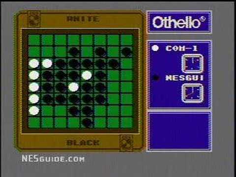 Othello Nes Gameplay Youtube