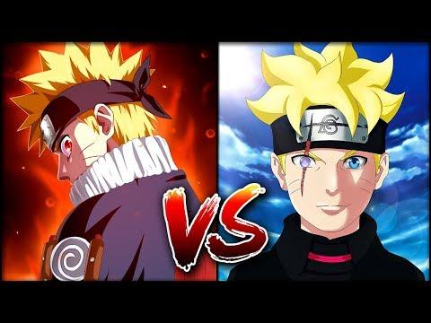 Мелкий Наруто против Боруто   Кто из них СИЛЬНЕЕ?!   Грандиозная БИТВА Naruto vs Boruto 