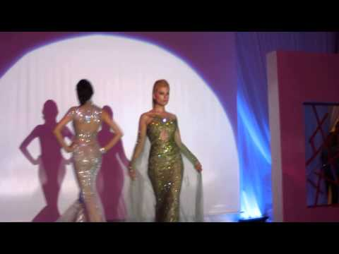 Le défilé de Hany Behairy at the Arabic Fashion Night