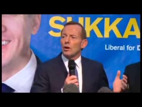 Must See: Tony Abbott vs. Skrillex - Abbottrang
