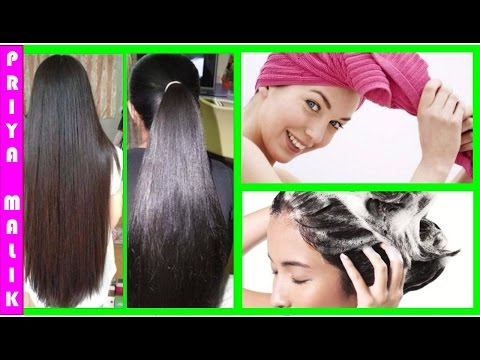 How To Get Super Silky. Shiny. Smooth Hair~ Hair Spa At Home in Simple 5 Steps