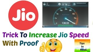 Jio Speed Increase Trick For All Phone | Latest Trick | Must Watch