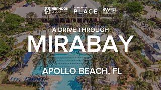 A Hyperlapse Tour of A Drive Through Mirabay in Apollo Beach Tampa Bay Florida