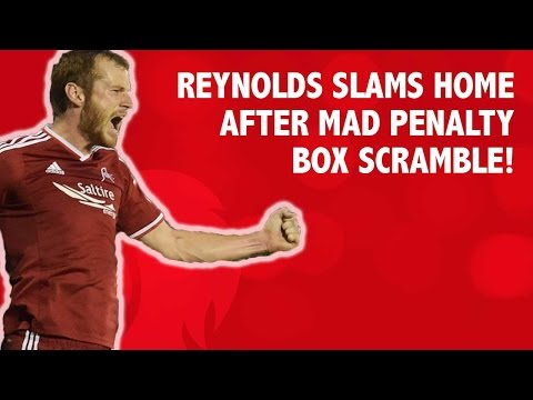 Reynolds slams home after mad penalty box scramble!
