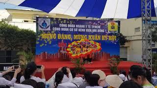 Văn nghệ mừng xuân 2019:  khoa SXH Bv Nhi đồng 1